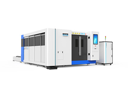 SF3015HM full cover metal sheet and tube laser cutter
