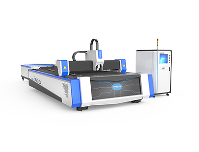 Exchange table fiber laser cutter