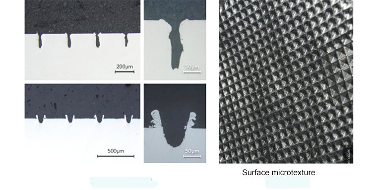Surface microtexture