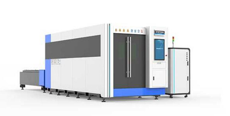 Full Cover 6kw Fiber Laser Cutting Machine
