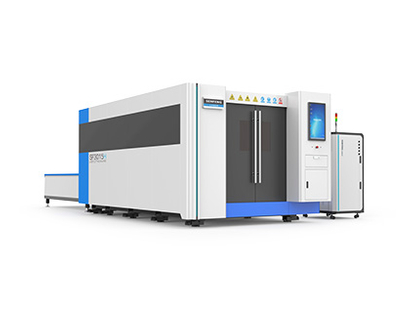 SF3015H full cover fiber laser cutter